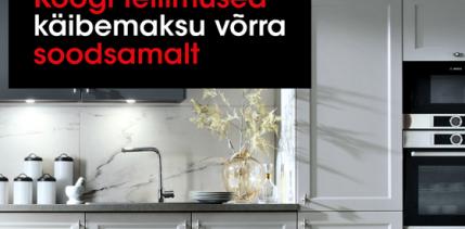 f771c8f32ed Vox Mööblis kõik köögi tellimused -20%